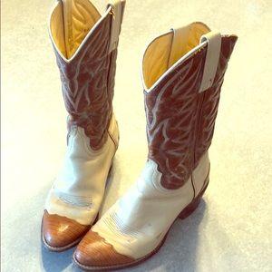 Tan/Brown Durango Cowboy Boots
